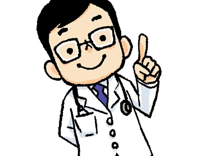 医師のイラスト