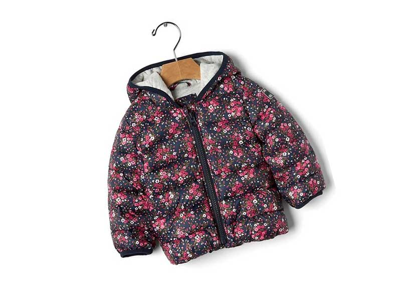 Cold Control Lite print puffer jacket