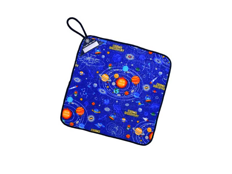ループタオル太陽系惑星とコスモプラネタリウム