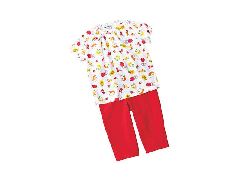 ファミリアパジャマ半袖