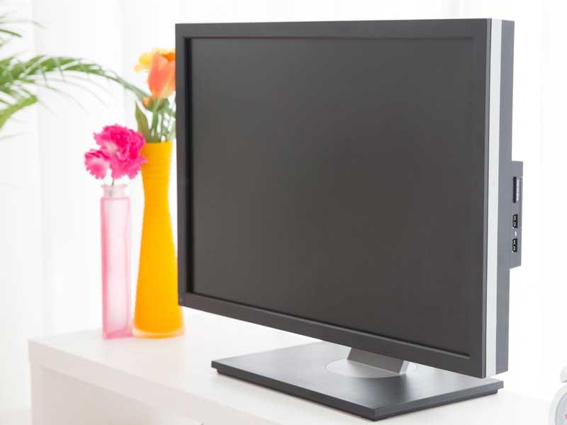 自宅のテレビ