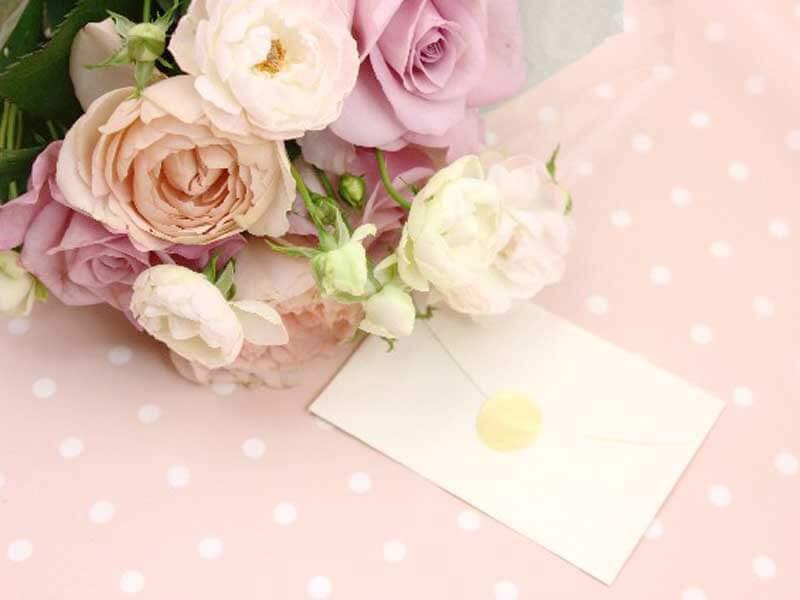 花束とお手紙