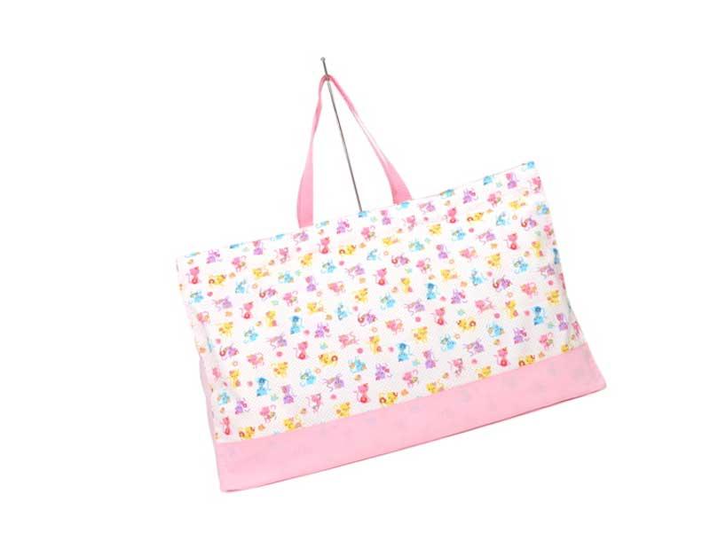お昼寝布団バッグのカラフル子猫のフラワーファッション