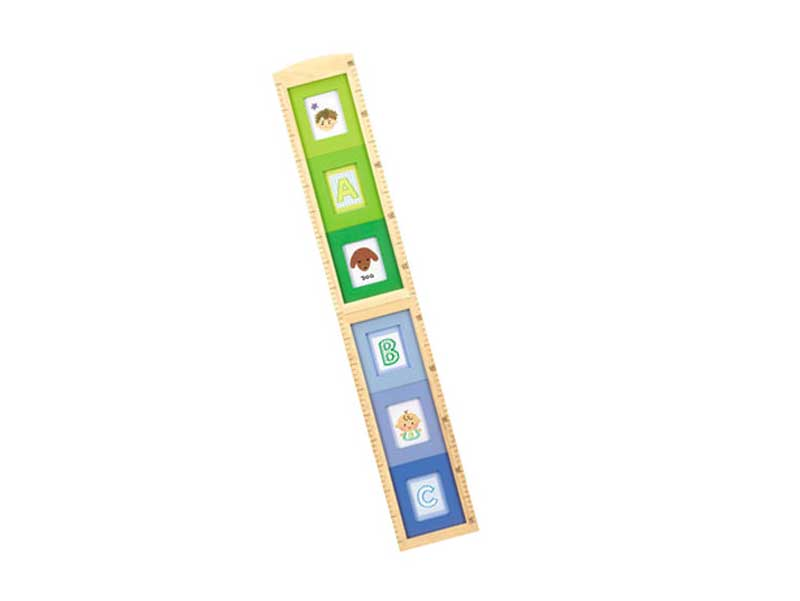 木製身長計フレーム