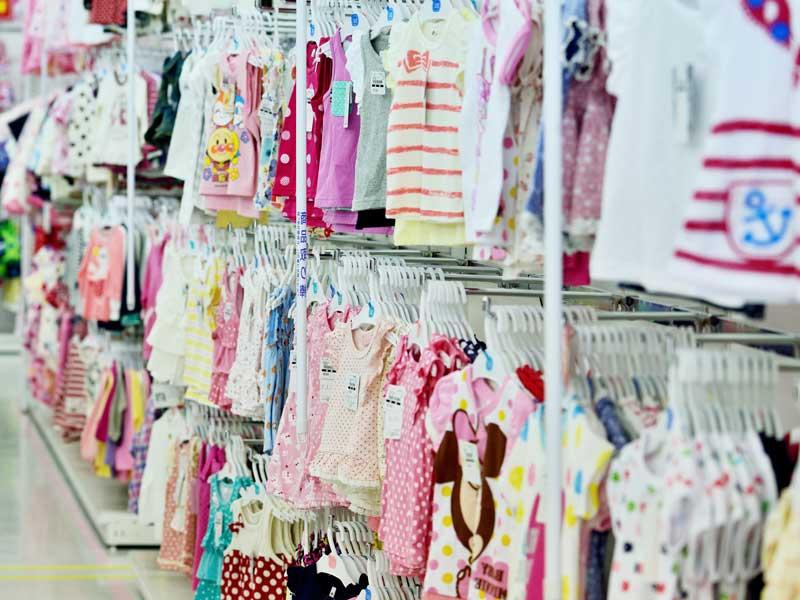 子供服売り場