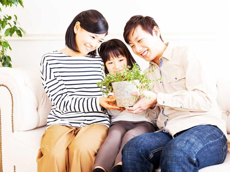 夫婦円満の家族