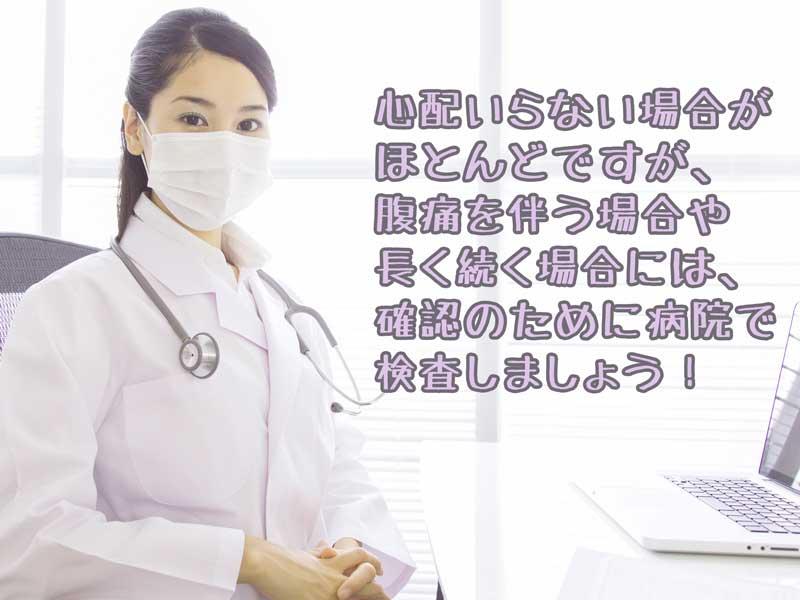 問診する女性医師