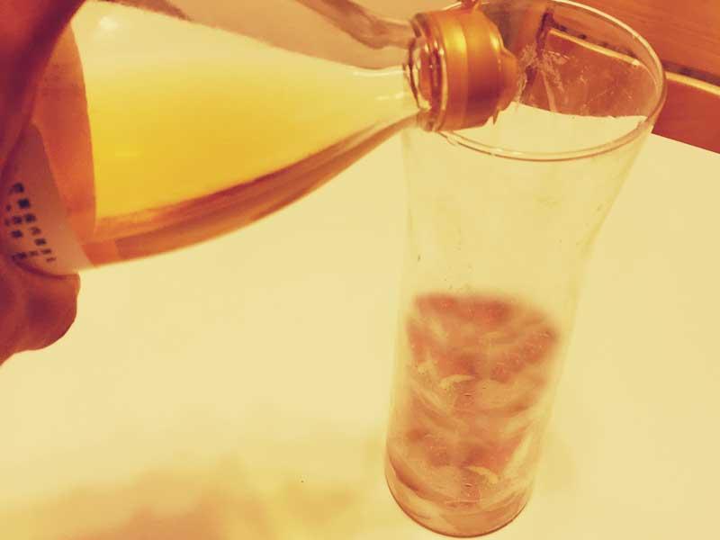 りんご酢の作り方2