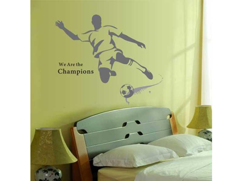 Wallsticker Storeのサッカープレーシルエット