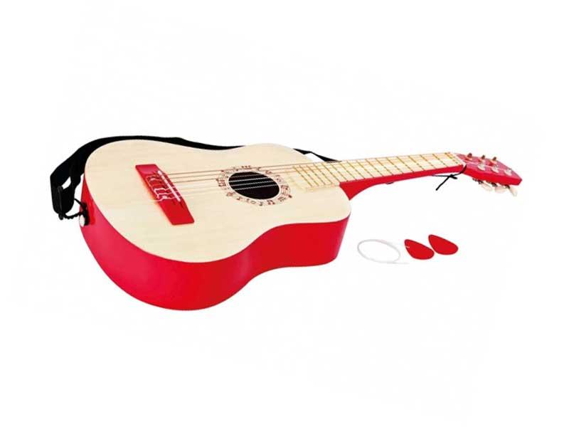 バイブラントレッドギター