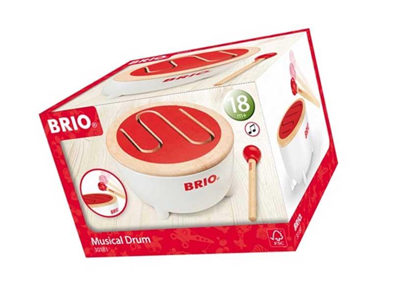 ブリオのBRIOドラム