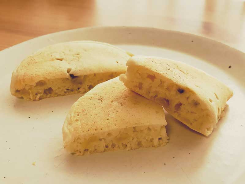 バナナのホットケーキ