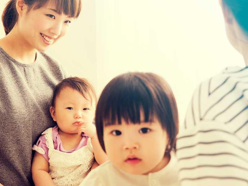 ママ友と赤ちゃん達