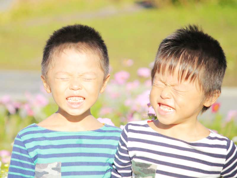 双子の男の子