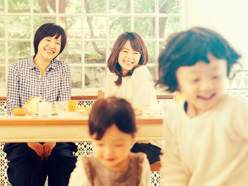 子供達とママ友