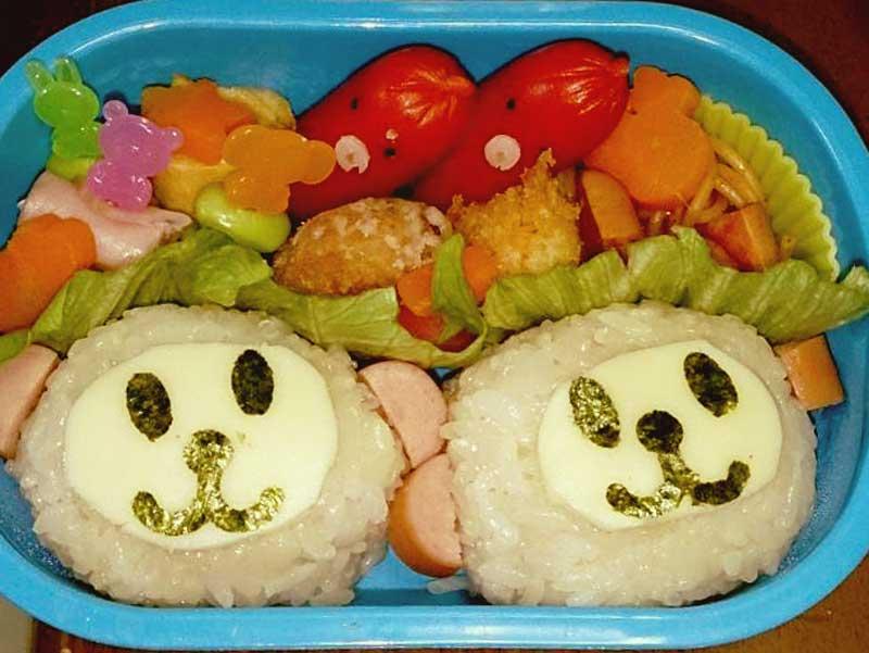 おさるさんのお弁当