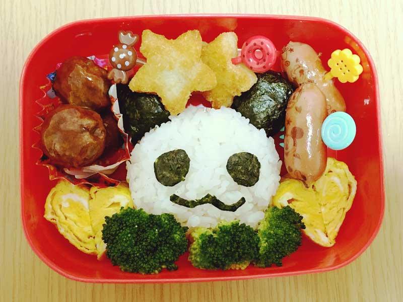 パンダさんの手作りお弁当