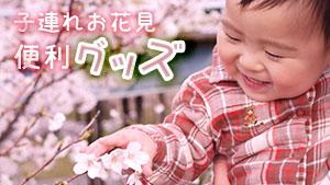 子連れのお花見にあるともっと楽しくなる便利グッズ20選