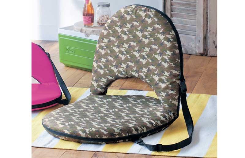 ゆったりビッグサイズなアウトドア座椅子