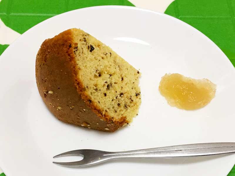 茶殻ケーキ