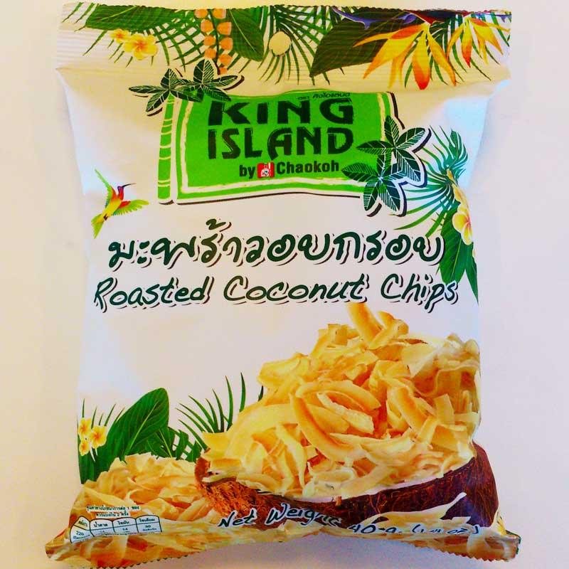 ココナッツチップスのパッケージ