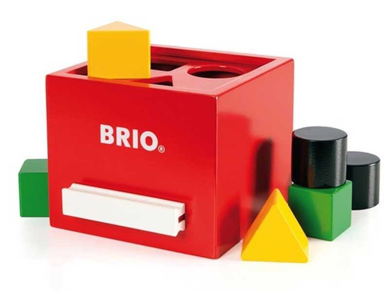 BRIOの形合わせボックス