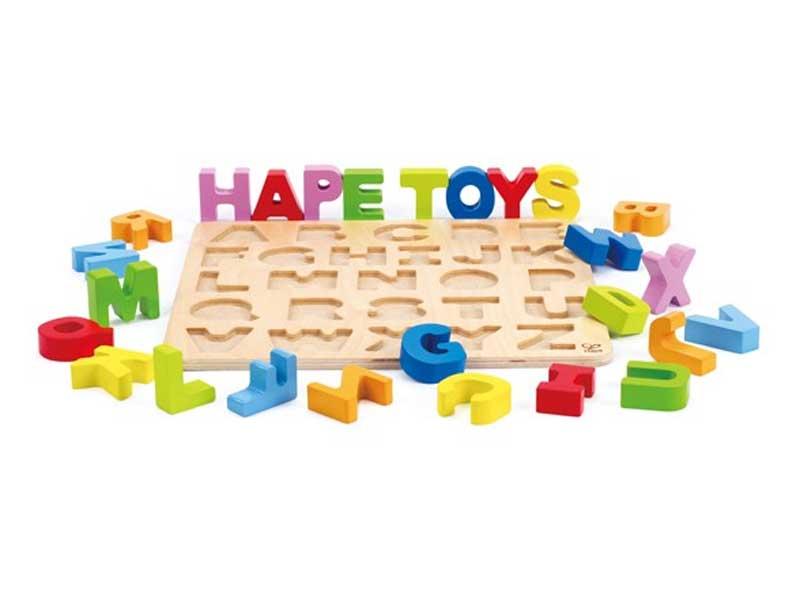 ハペのアルファベットパズル
