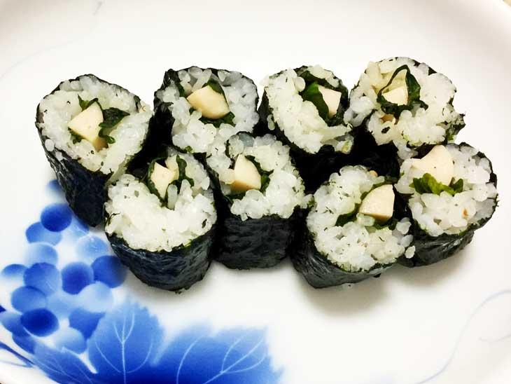 魚肉ソーセージの細巻