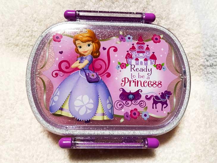 プリンセスソフィアのお弁当箱