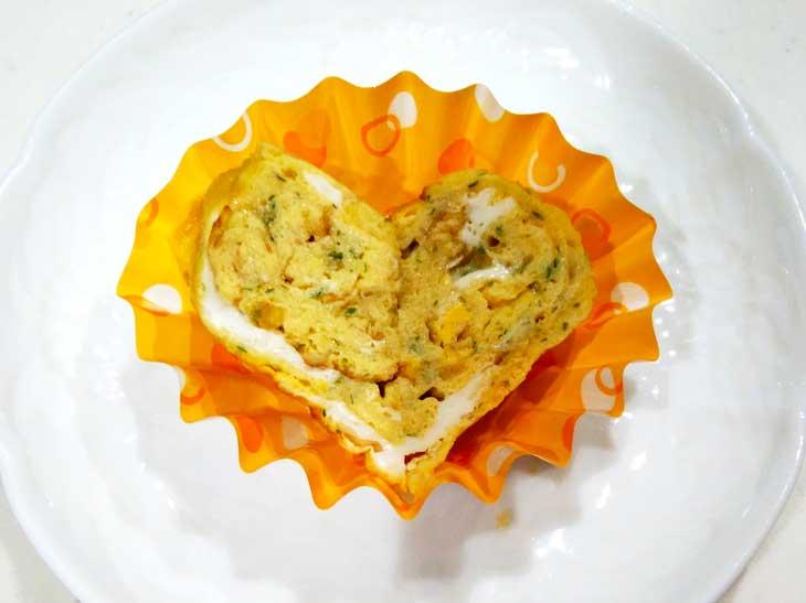 桜海老が入った卵焼き