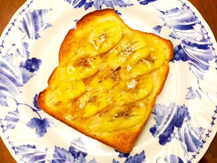 バナナシナモントースト