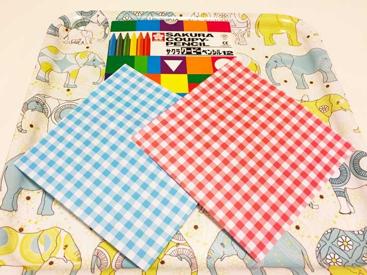 折り紙で折る手作りお雛様の材料