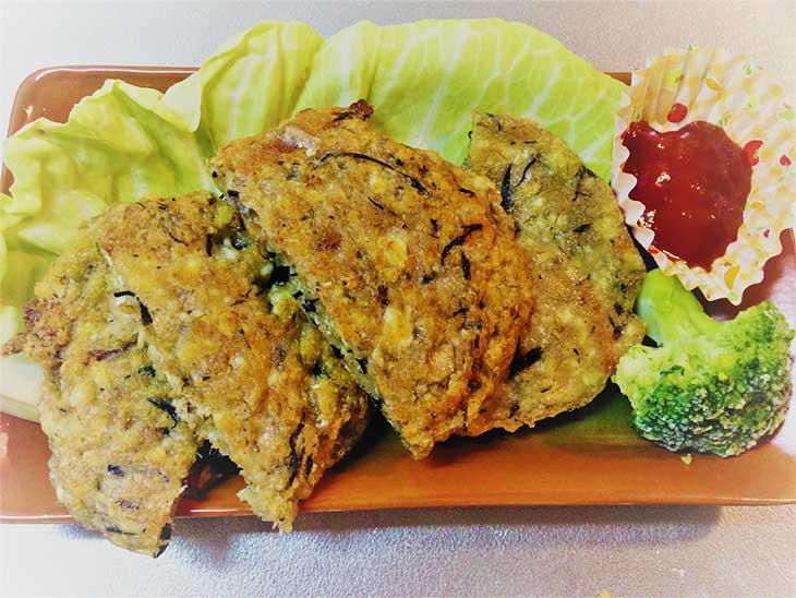 サバの豆腐ハンバーグ