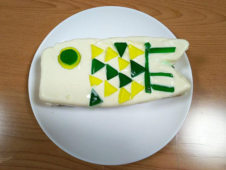 こいのぼりのアイスケーキ