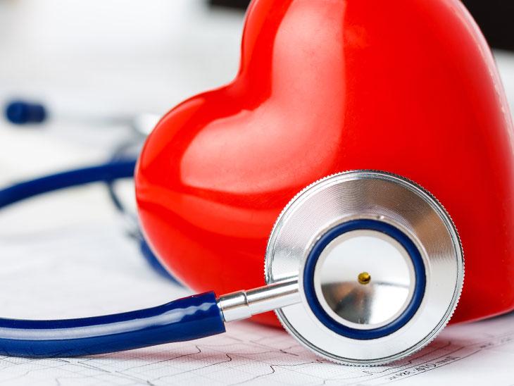 聴診器とハートイメージ