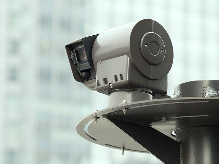 セキュリティカメラ