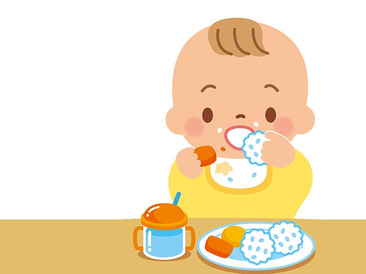 離乳食・中期イラスト