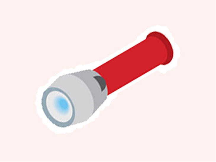 防災用のライト