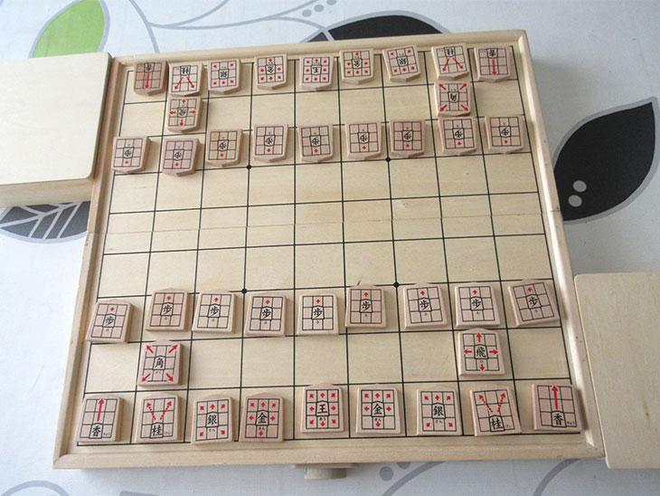 幼児も遊べる将棋の写真