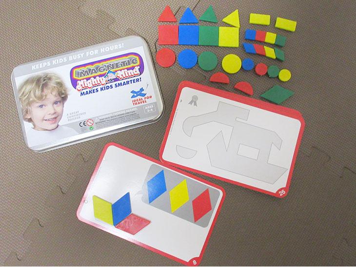 幼児の理系脳開発によい遊び道具の写真