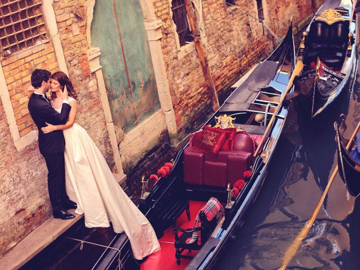 船上の結婚式