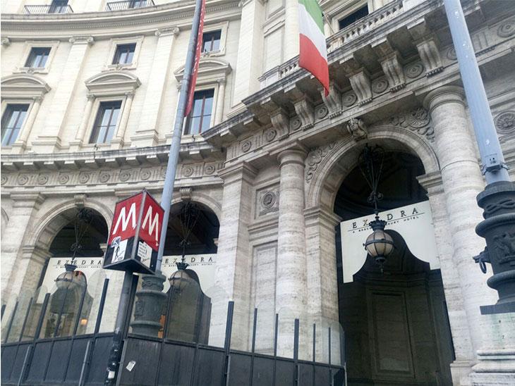 イタリアのホテルの写真