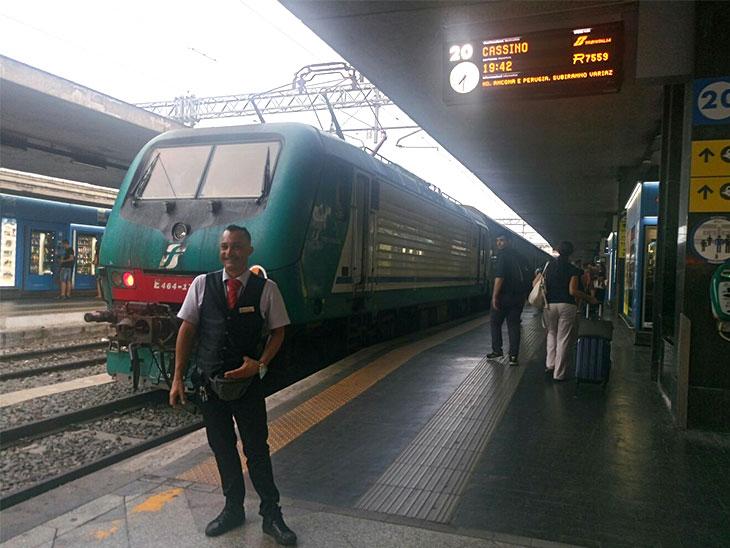 イタリアの鉄道の写真