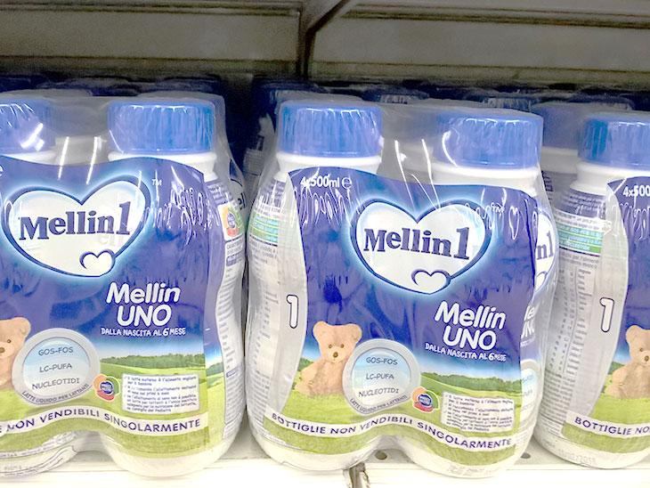 Mellinの液体ミルクの写真