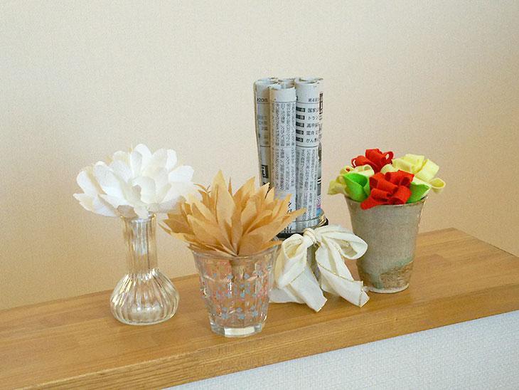 4種類の簡易加湿器
