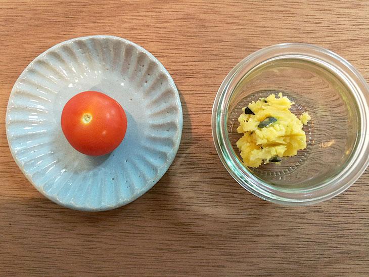 プチトマトのカップサラダの材料