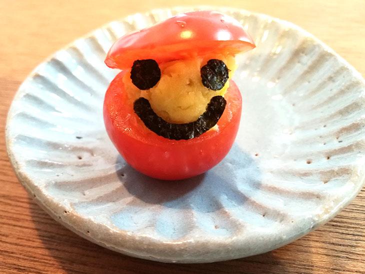 プチトマトのカップサラダの完成写真