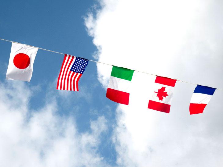 いろんな国の旗