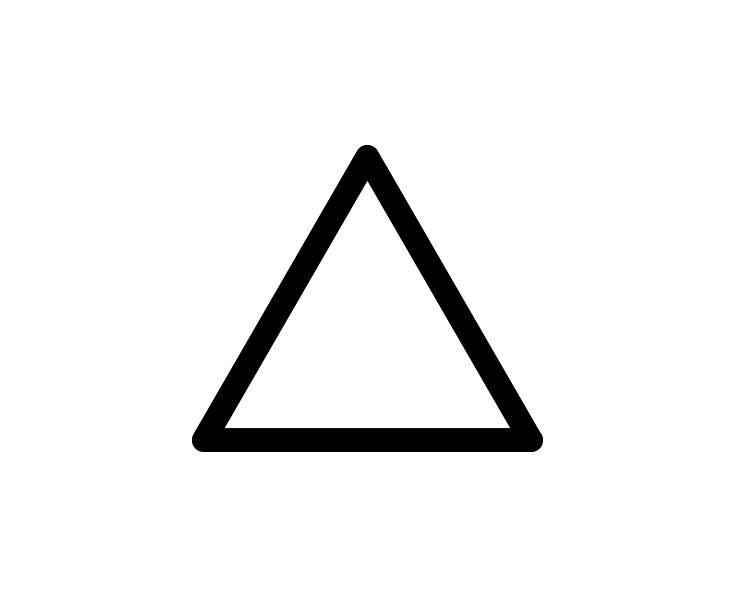 三角マーク