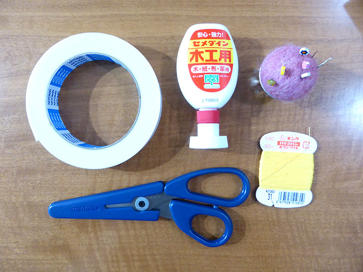 ボックスティッシュおもちゃに使う道具